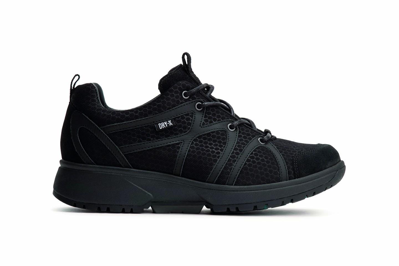 Xsensible Stretchwalker Sneakers Dames (Zwart) - Vergelijk